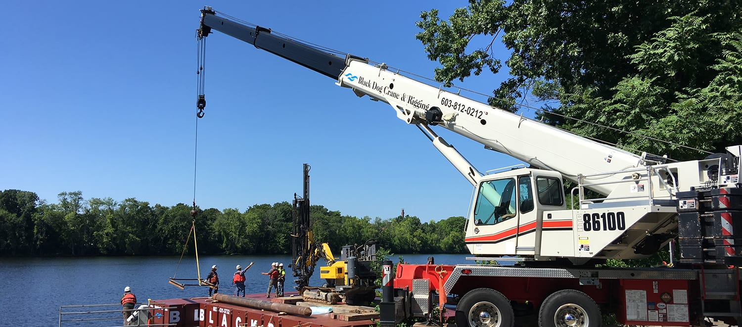 truck crane rental new hampshire